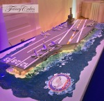 Aircraft Carrier Cake