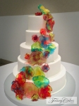 Chihuly Wedding in Sugar