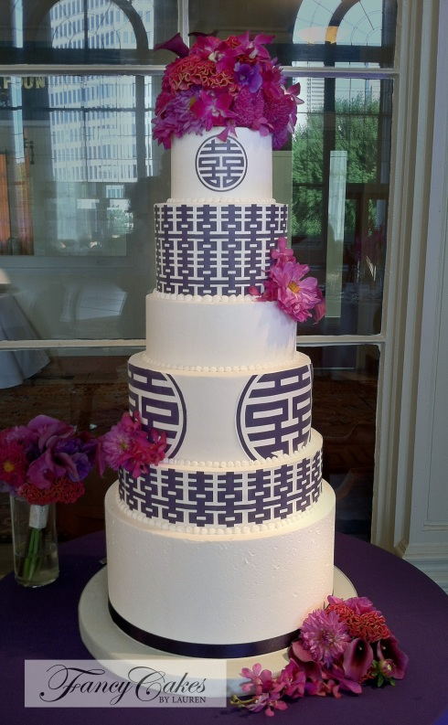 Double Happiness Wedding Cakes
