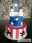 Gymnast Cake