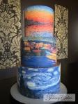 Impressionist Cake