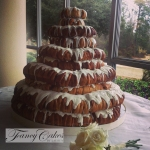 King Cake Wedding Cake