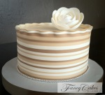 Creamy stripes
