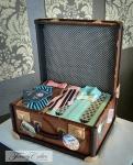 Vintage Luggage Cake