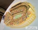Ohio State Stadium Cake