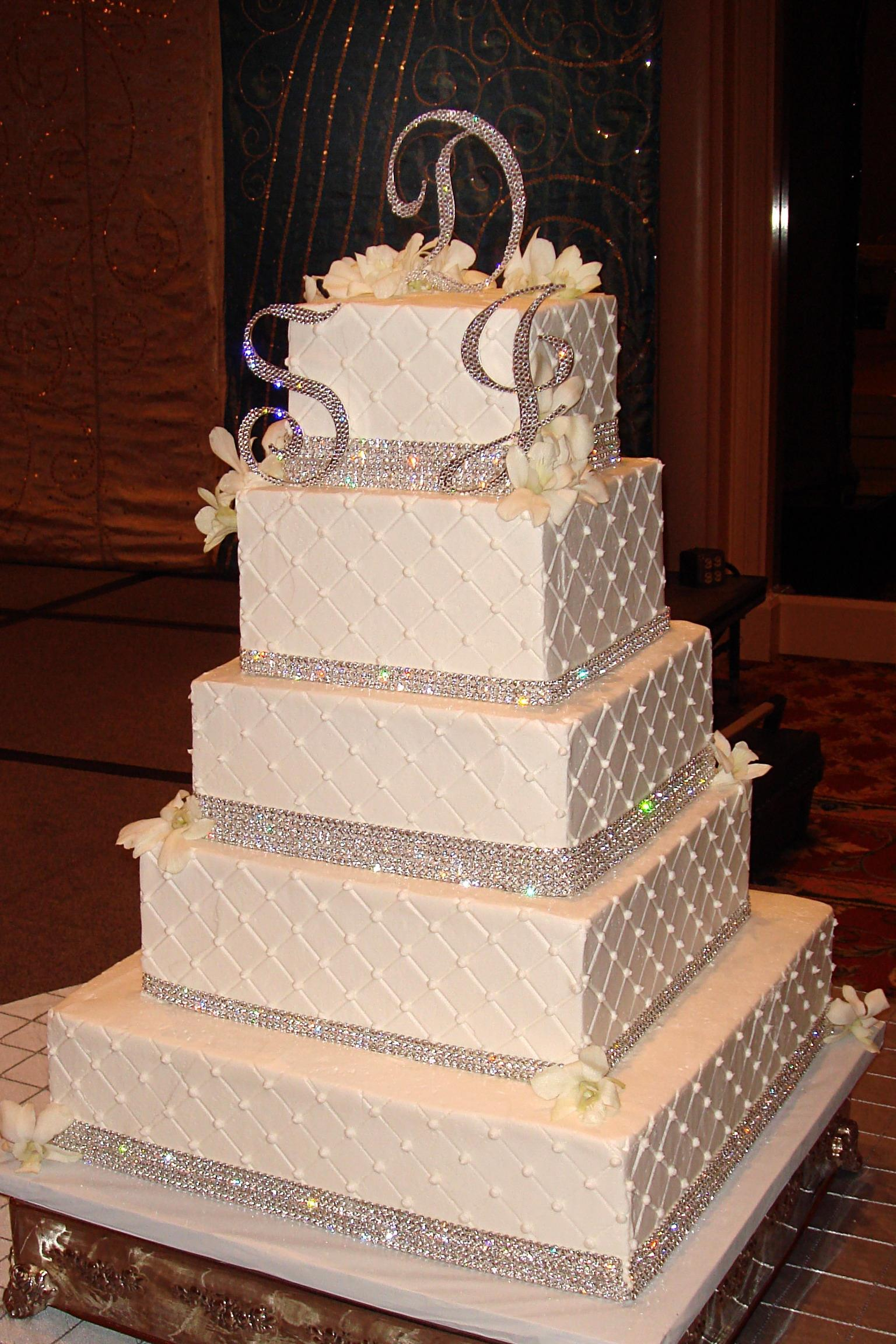 quilted bling cakes by lauren Cake Love