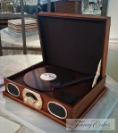 Studebaker Record Player Cake