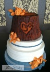 The Oak Tree Wedding Cake