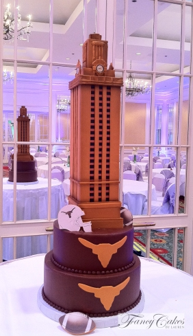 UT Tower Cake