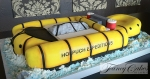 White Water Raft Cake