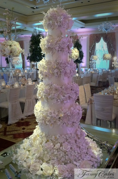 Overflowing with Sugar Flowers